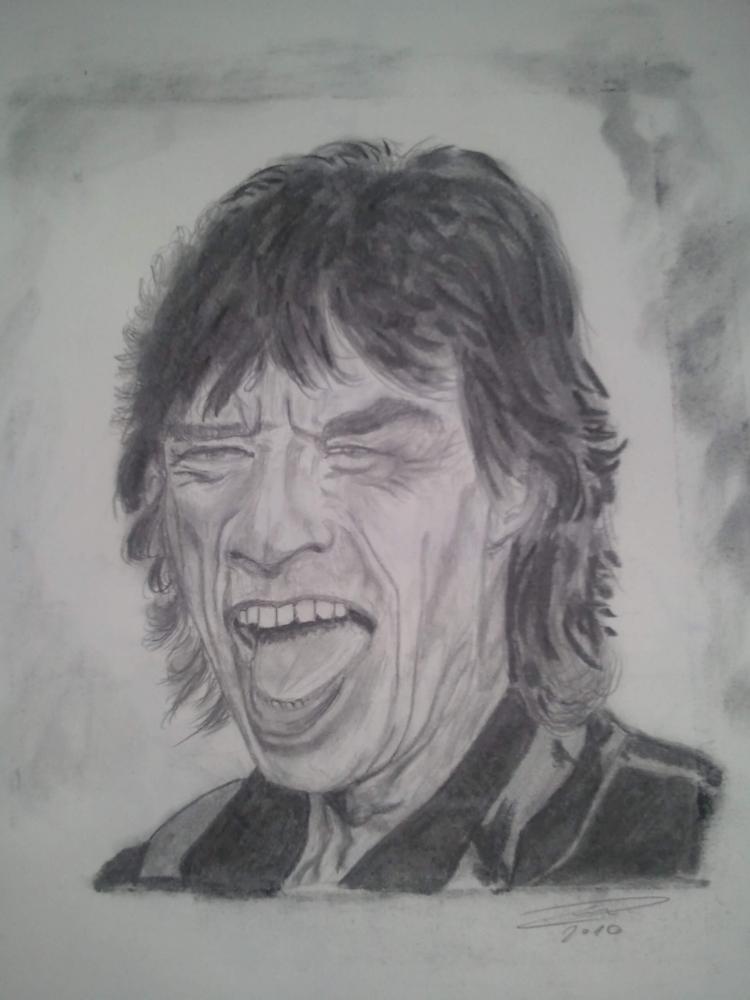 Mick Jagger by SALVAT